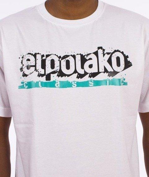 El Polako-Paint Classic T-Shirt Biały