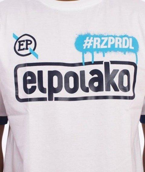 El Polako-#RZPRDL T-Shirt Biały
