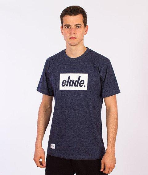 Elade-Box T-Shirt Jeansowy Niebieski