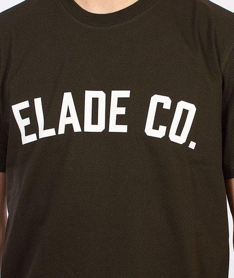 Elade-College T-Shirt Oliwkowy
