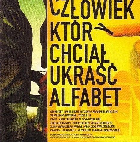 Eldo-Człowiek Który Chciał Ukraść Alfabet CD