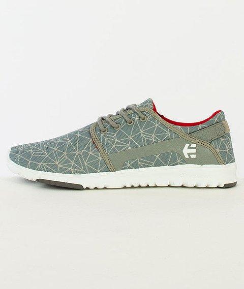 Etnies-Scout Grey/Light Grey/Red