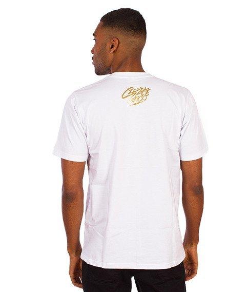Gang Albanii-Heavy Shit T-Shirt Biały