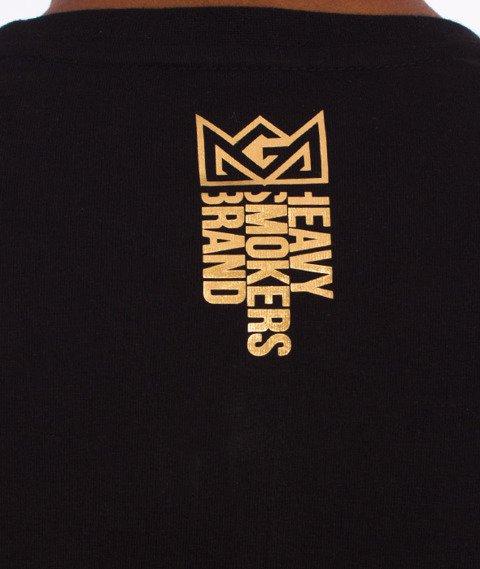 Ganja Mafia-Crown Foil T-Shirt Czarny/Złoty