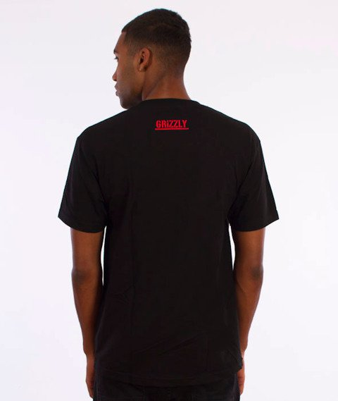 Grizzly-Top Team T-Shirt Black
