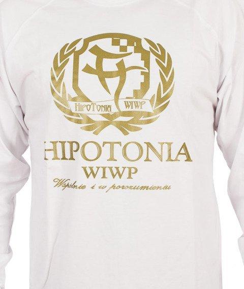 Hipotonia-Laur Longsleeve Biały/Złoty