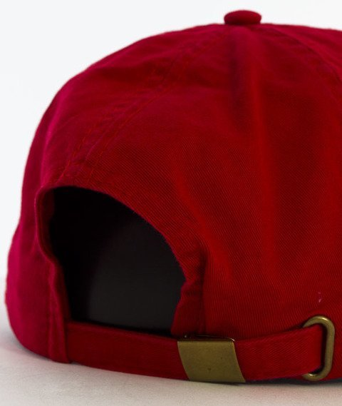 Hype-Strawberry Dad Hat Czapka Z Daszkiem Red