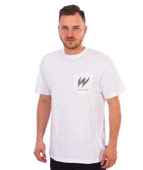 IAM. CLOTHES-Kieszonka T-shirt Biały