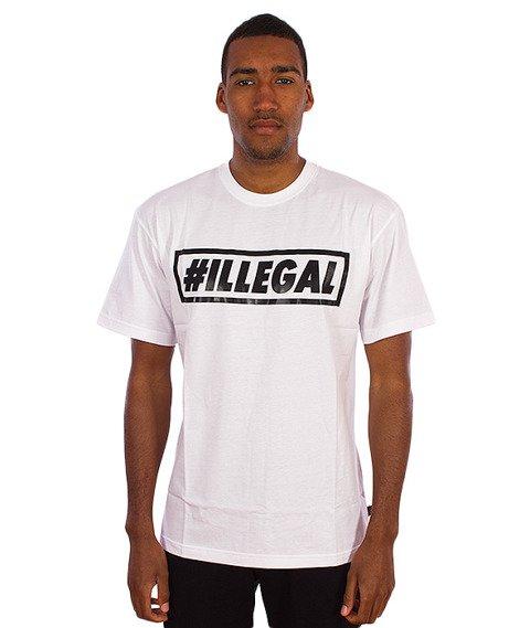 Illegal-#Illegal T-Shirt Biały