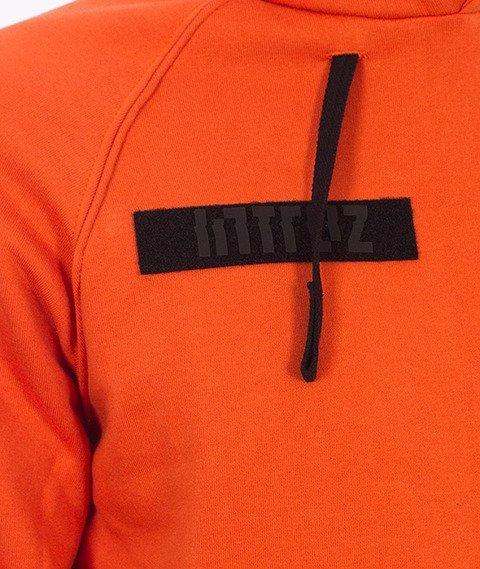 Intruz-Riot Bluza Z Kapturem Pomarańczowa