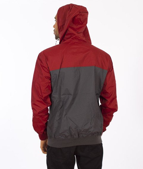 Iriedaily-Auf Deck Jacket Anthra/Red