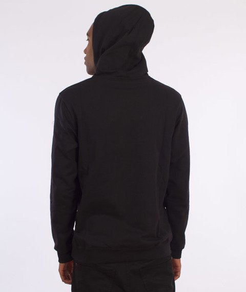 Iriedaily-Neighbourhood Hooded Bluza Kaptur Black