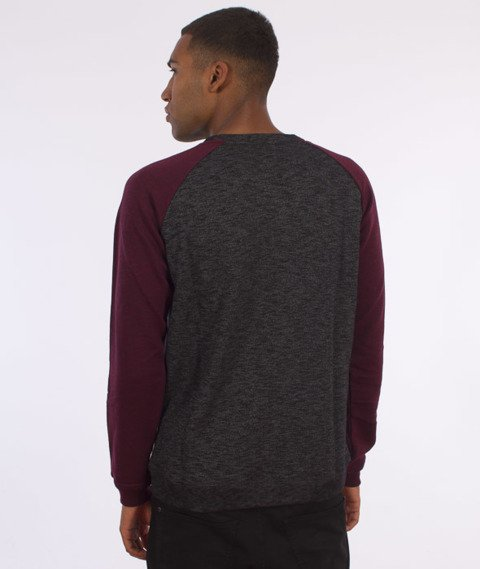 Iriedaily-Slubhead Raglan Light Roundneck Antra Red