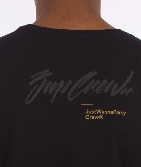 JWP-Gife Handstyle OFF T-shirt Czarny