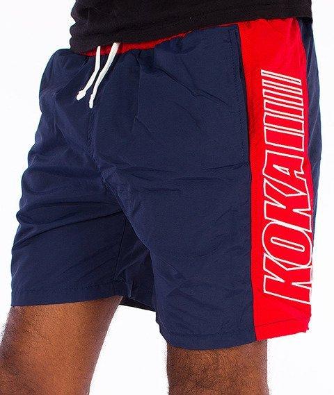 Koka-International 90 Spodnie Krótkie Granatowe