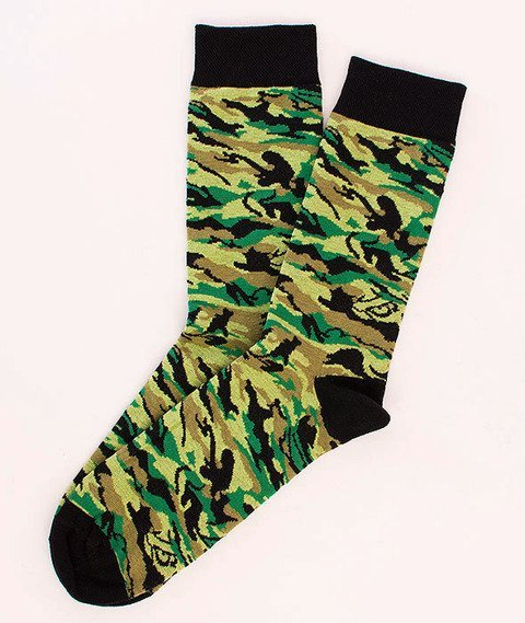 Koka-Naked Socks Camo/Green