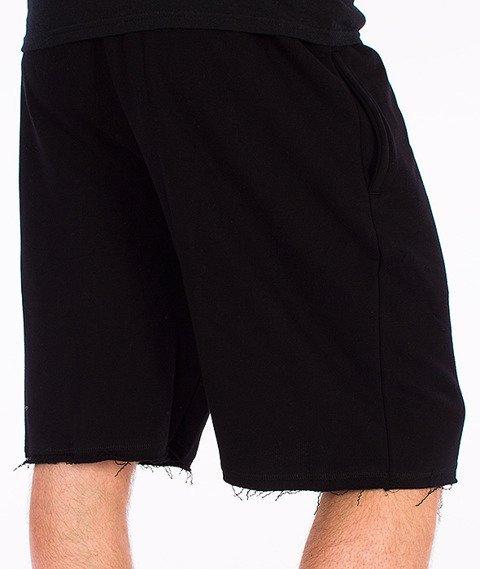 Koka-Sandglass Spodnie Krótkie Dresowe Czarne
