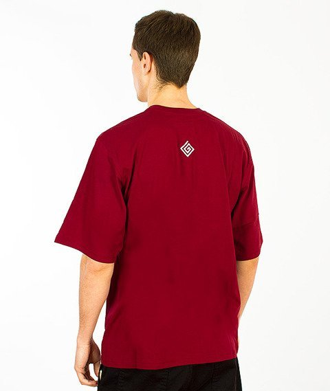 Labirynt-Find T-shirt Bordowy