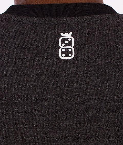 Lucky Dice-Order 13 Bluza Bordo/Grafit/Szara