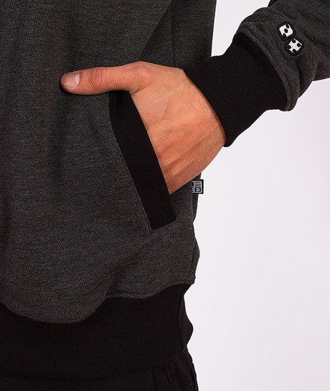 Lucky Dice-Triangle Bluza Czarna/Grafitowa