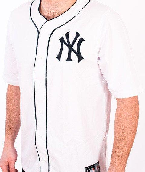 Majestic-New York Yankees Jersey White
