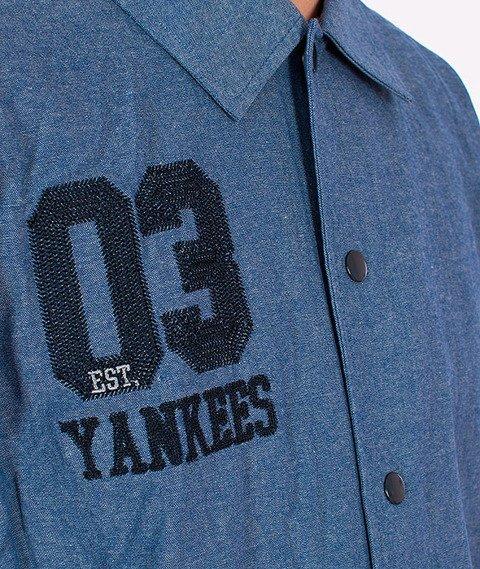 Majestic-New York Yankees Shirt Blue
