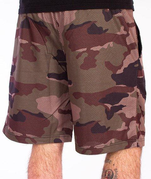 Mass-Battle Spodnie Krótkie Mesh Camo