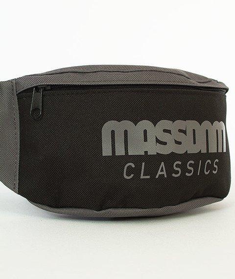 Mass-Classic Cut Hip Case Nerka Czarna/Grafitowa