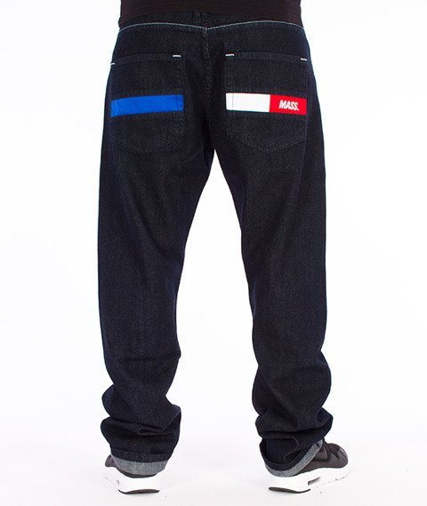 Mass-Hello Regular Fit Jeans Dark Blue