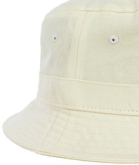 Mitchell & Ness-Label Logo Bucket Hat White EU488