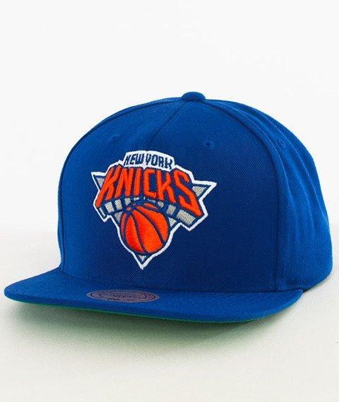 Mitchell & Ness-New York Knicks Snapback NL99Z Royal