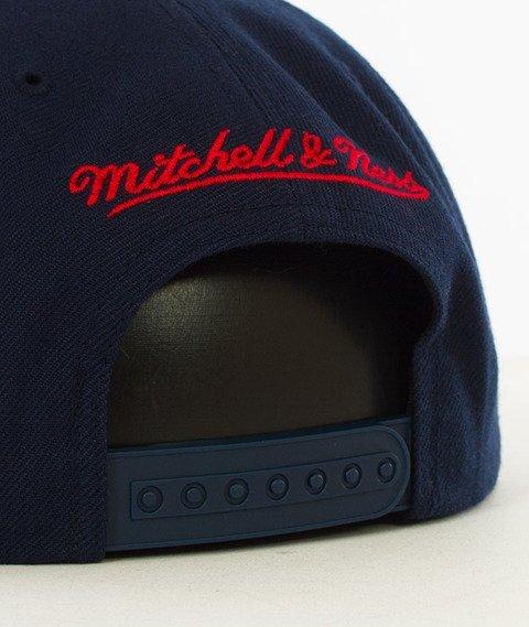 Mitchell & Ness-New York Red Bulls Snapback VR26Z Navy