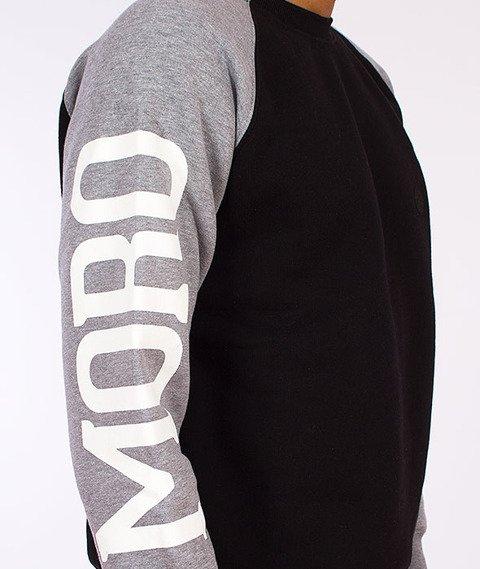 Moro Sport-Moro Sport Bluza Klasyczna Czarna/Melanż