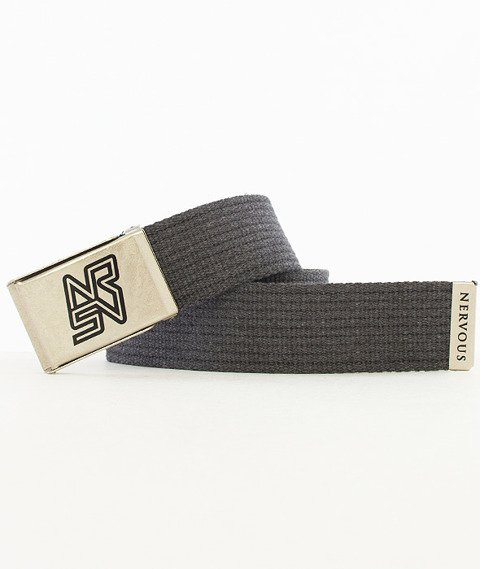Nervous-Frame Pasek Grey/Silver