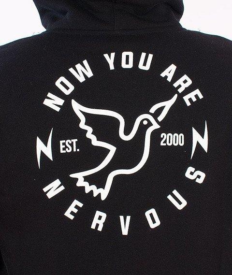Nervous-Round Sp16 Bluza Kaptur Zip Czarny