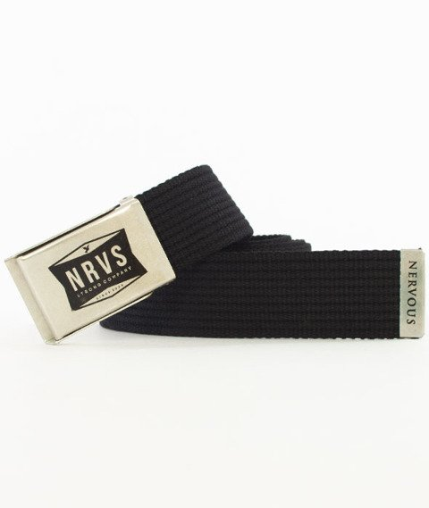 Nervous-Shop Pasek Black/Silver