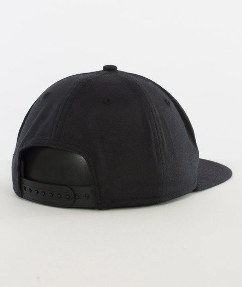 New Era-Oxford New Era Patch Snapback Black