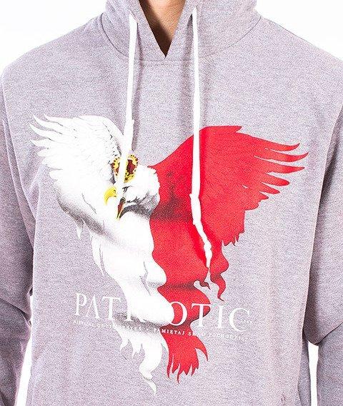 Patriotic-Eagle New Kaptur Szary