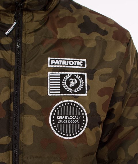 Patriotic-Futura Badge Pump Kurtka Zimowa Camo