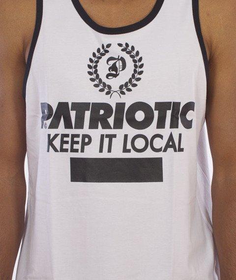 Patriotic-Laur Tank-Top Biały