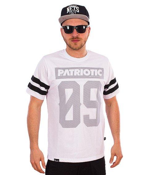 Patriotic-Mesh09 T-Shirt Biały
