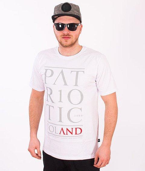Patriotic-Poland T-shirt Biały