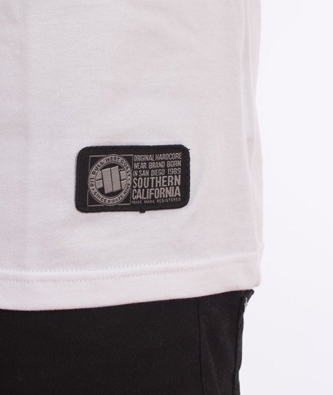 Pit Bull West Coast-Basic Pit Bull T-shirt White
