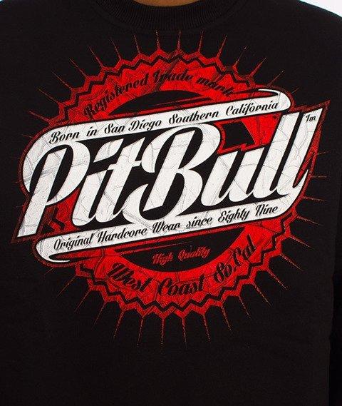 Pit Bull West Coast-Stamp Crewneck Bluza Czarna