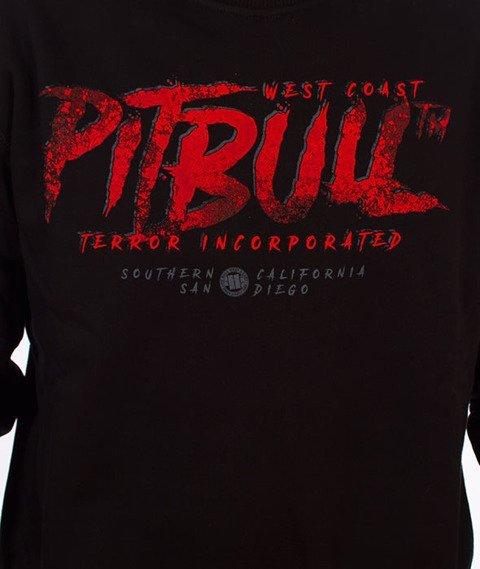 Pit Bull West Coast-Terror Scissors Crewneck Bluza Czarna