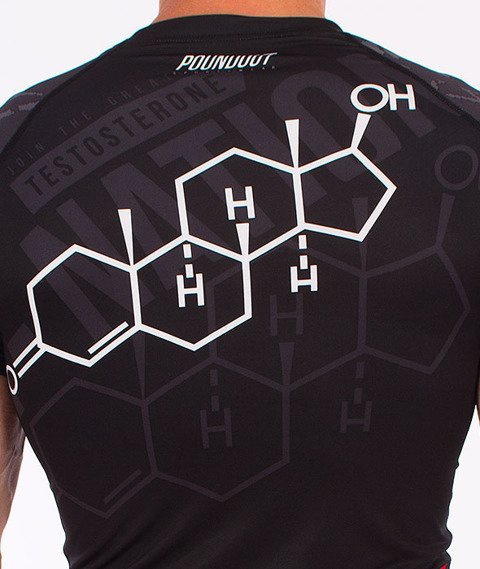 Poundout-Testosterone Rashguard Multikolor