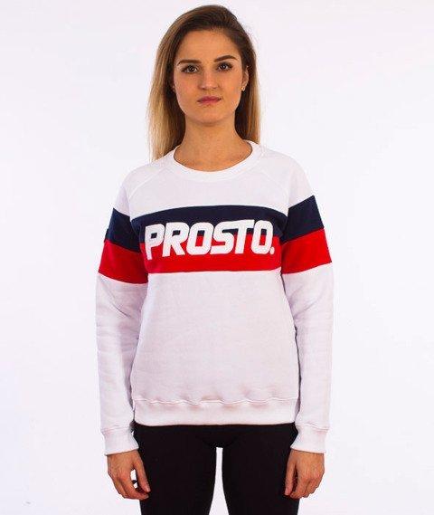 Prosto-Extra Bluza Damska Biała