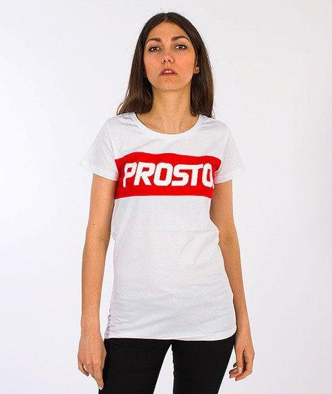 Prosto-Rolly T-shirt Damski White