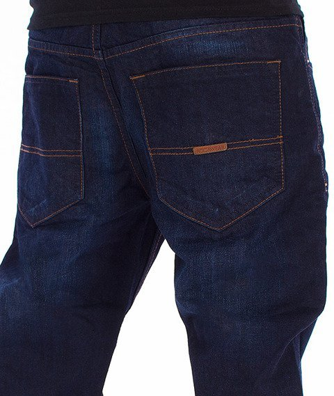 RocaWear-Dark Night Blue Relaxed Fit Spodnie Jeans R00J9911L 858