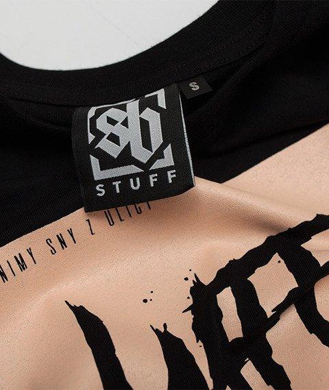 SB Maffija-Scream T-Shirt Czarny
